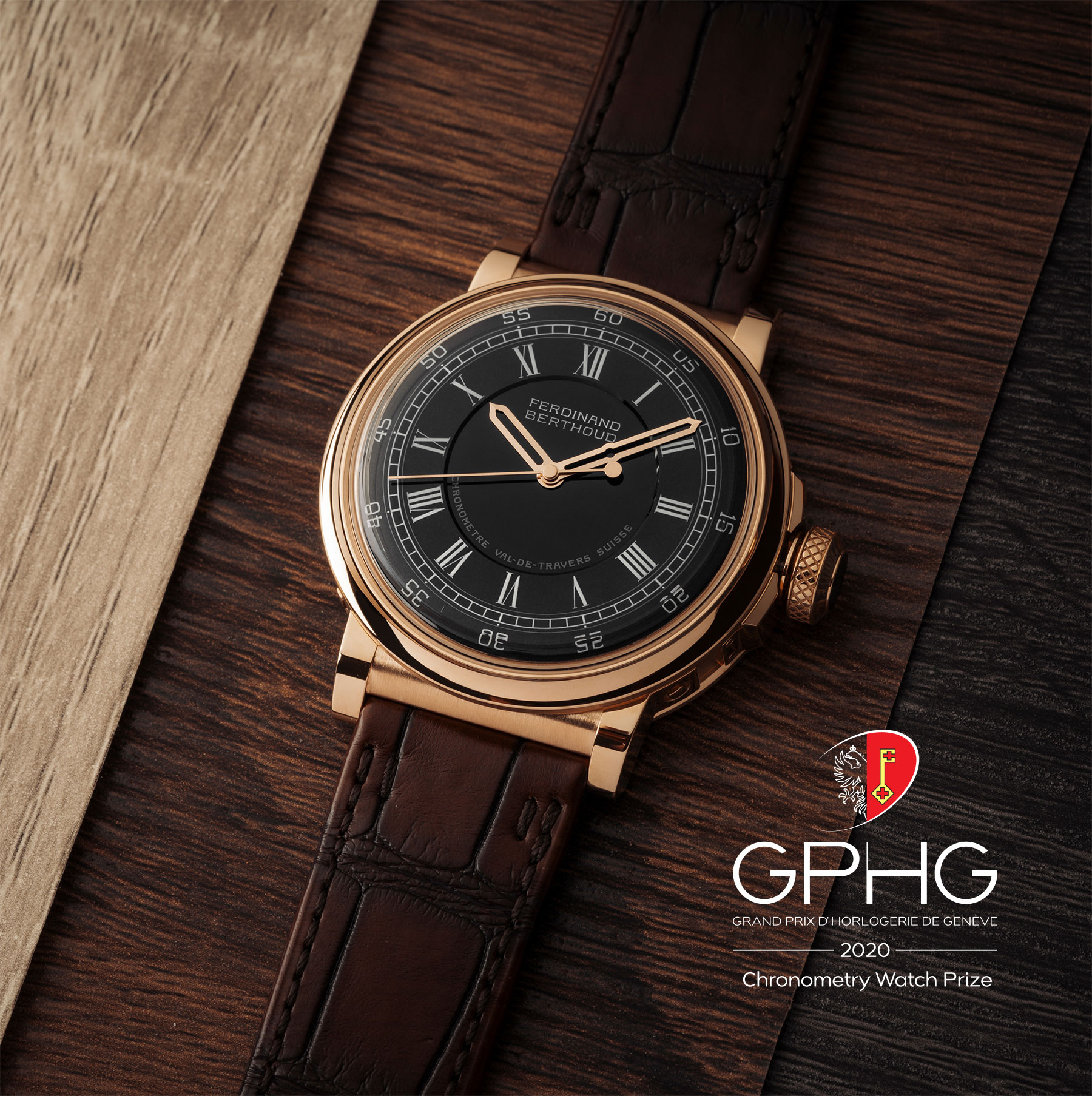 Chronométrie Ferdinand Berthoud honoured at the 2020 Grand Prix d'Horlogerie de Genève (GPHG) for the second consecutive year