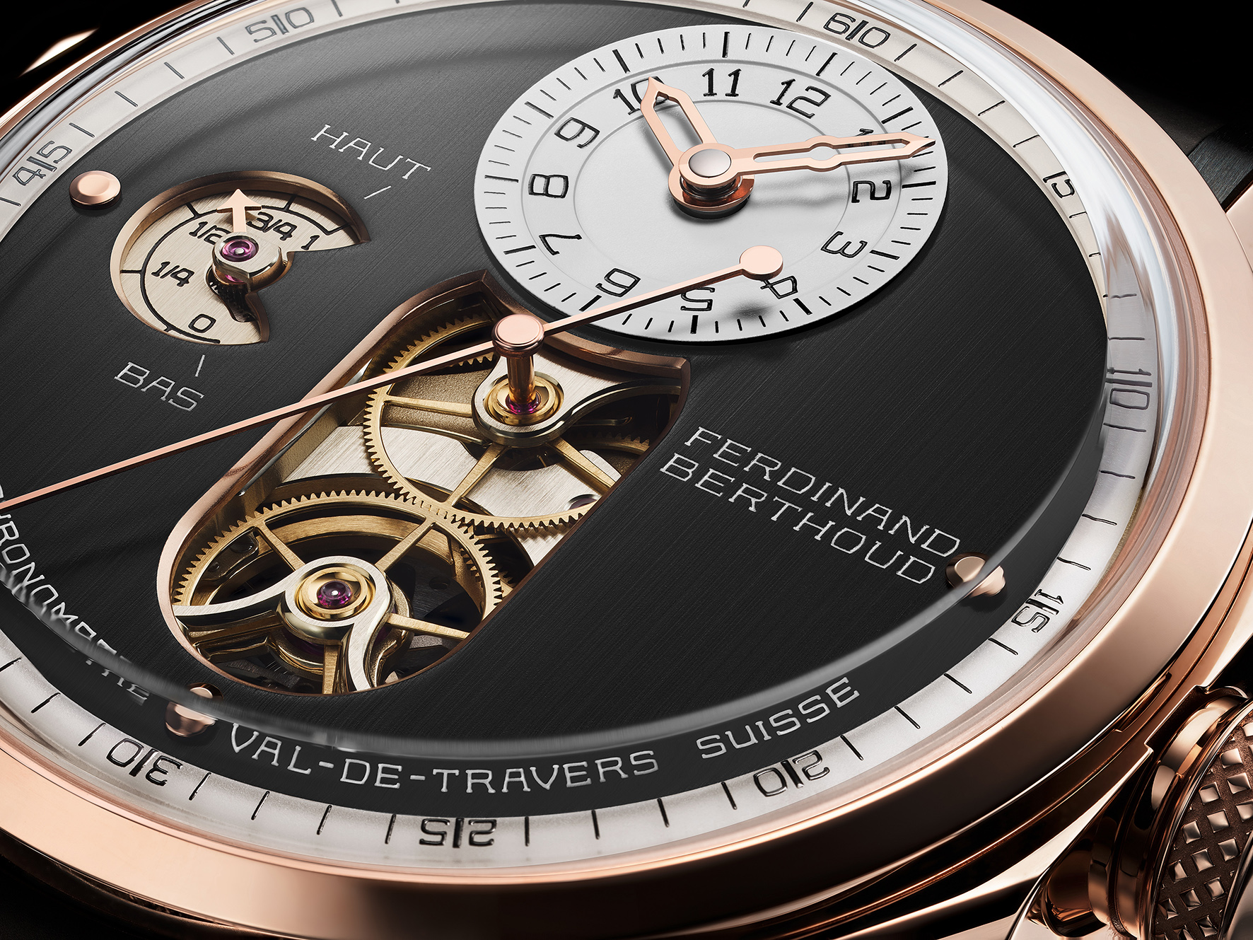 2015 – 2020 :  CHRONOMÉTRIE FERDINAND BERTHOUD, THE FIRST FIVE YEARS