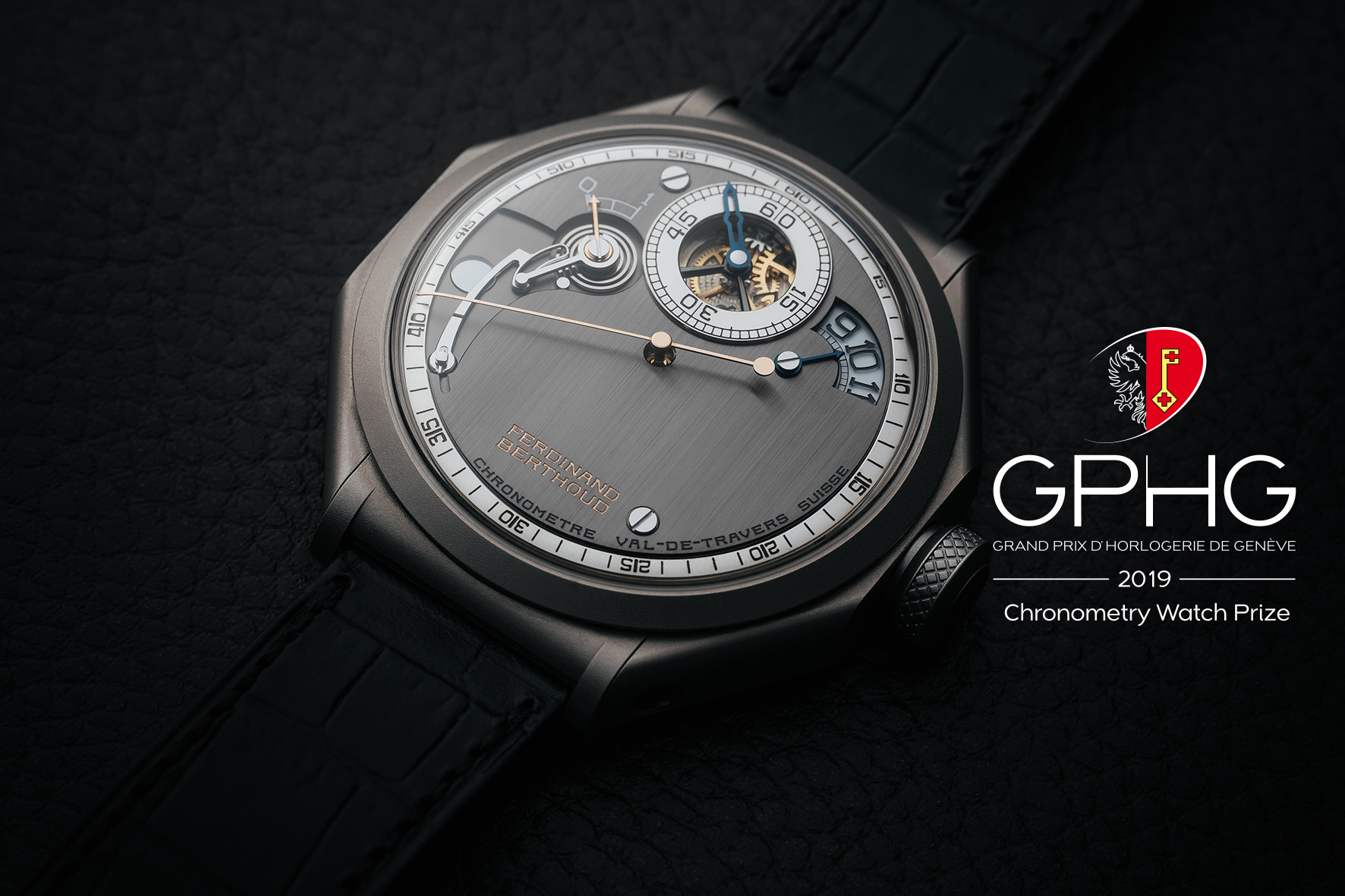 CHRONOMÉTRIE FERDINAND BERTHOUD HONOURED AT THE 2019 GRAND PRIX D'HORLOGERIE DE GENÈVE (GPHG)